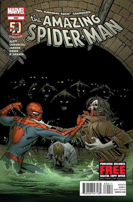 The Amazing Spider-man - 690 cover