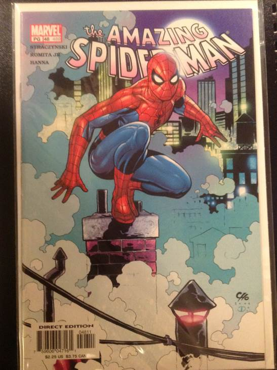 The Amazing Spider-man - 489 cover