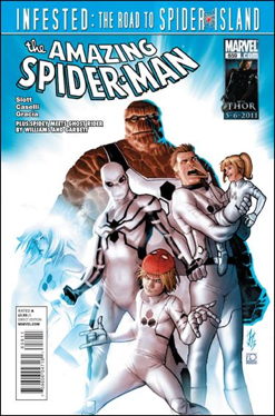The Amazing Spider-man - 659 cover