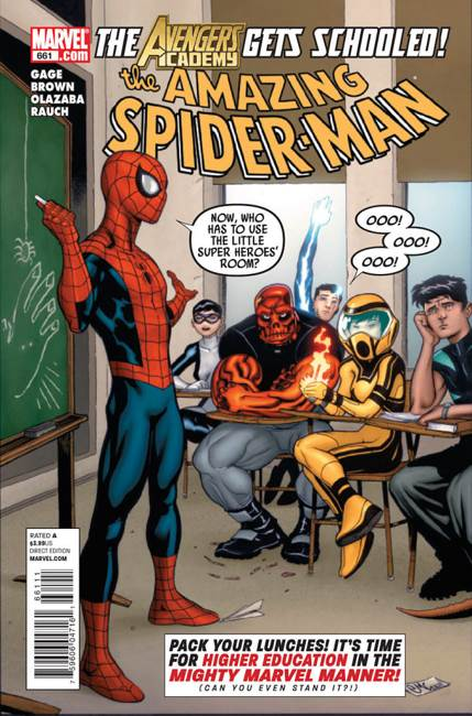 The Amazing Spider-man - 661 cover