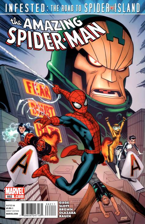 The Amazing Spider-man - 662 cover