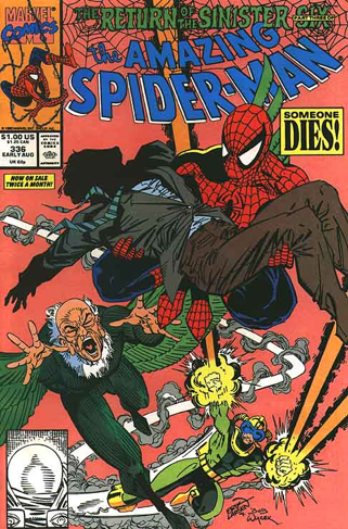 The Amazing Spider-man - 336 cover