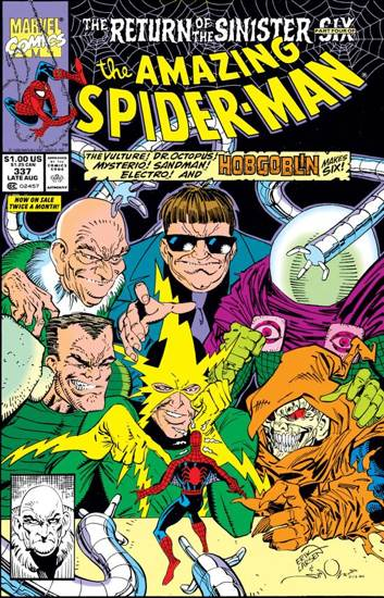 The Amazing Spider-man - 337 cover