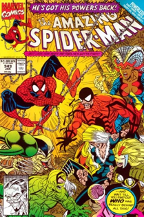 The Amazing Spider-man - 343 cover