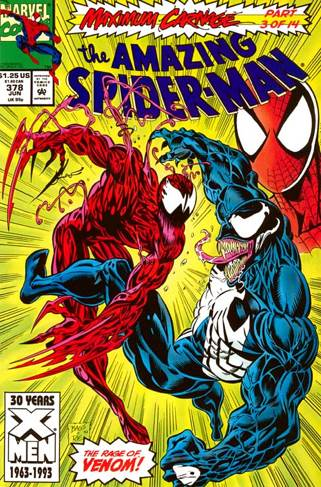 The Amazing Spider-man - 378 cover