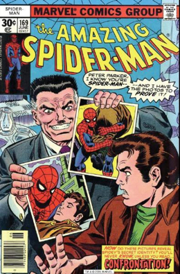 The Amazing Spider-man - 169 cover