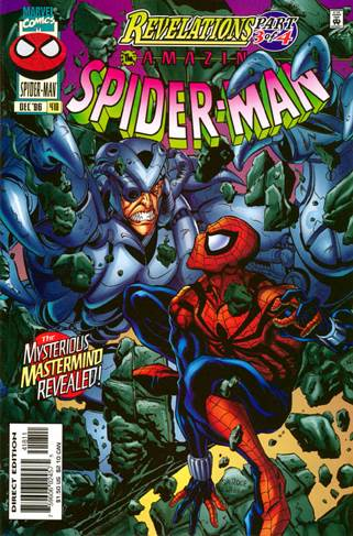 The Amazing Spider-man - 418 cover