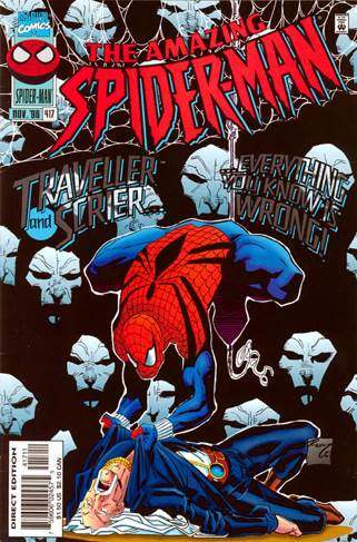 The Amazing Spider-man - 417 cover
