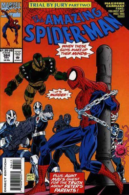 The Amazing Spider-man - 384 cover