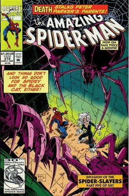 The Amazing Spider-man - 372 cover