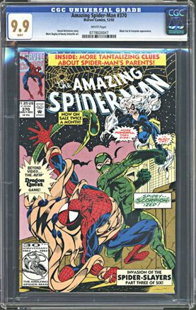 The Amazing Spider-man - 370 cover