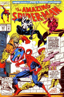 The Amazing Spider-man - 367 cover