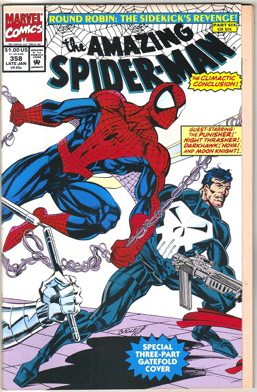 The Amazing Spider-man - 358 cover
