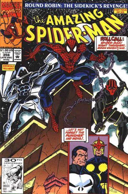 The Amazing Spider-man - 356 cover