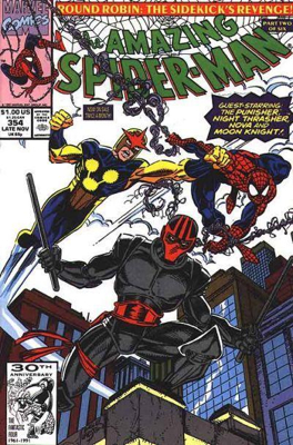 The Amazing Spider-man - 354 cover