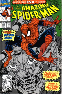 The Amazing Spider-man - 350 cover
