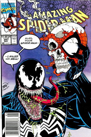 The Amazing Spider-man - 347 cover