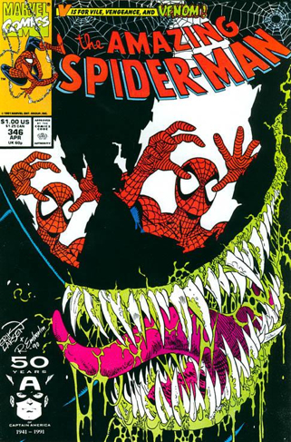 The Amazing Spider-man - 346 cover