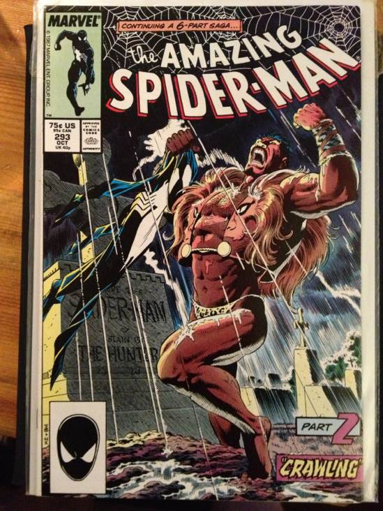 The Amazing Spider-man - 293 cover