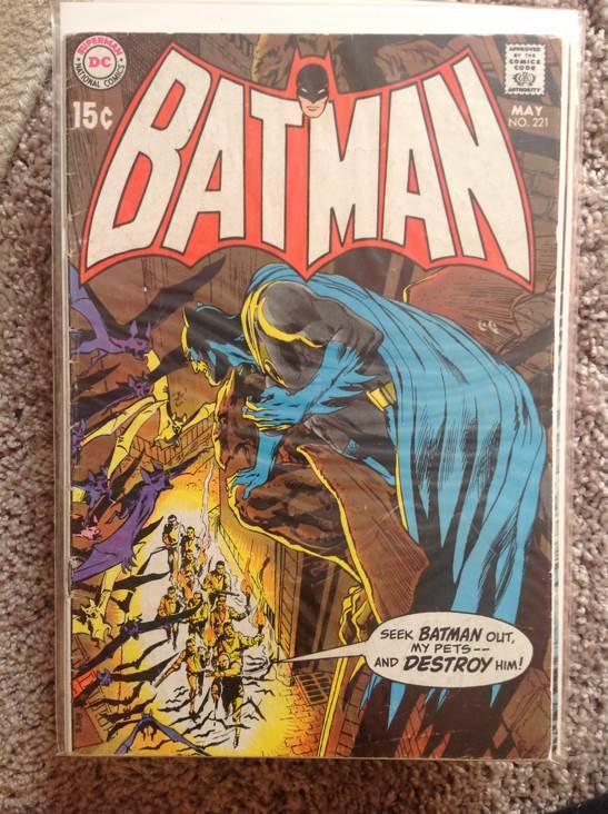 Batman - 221 cover