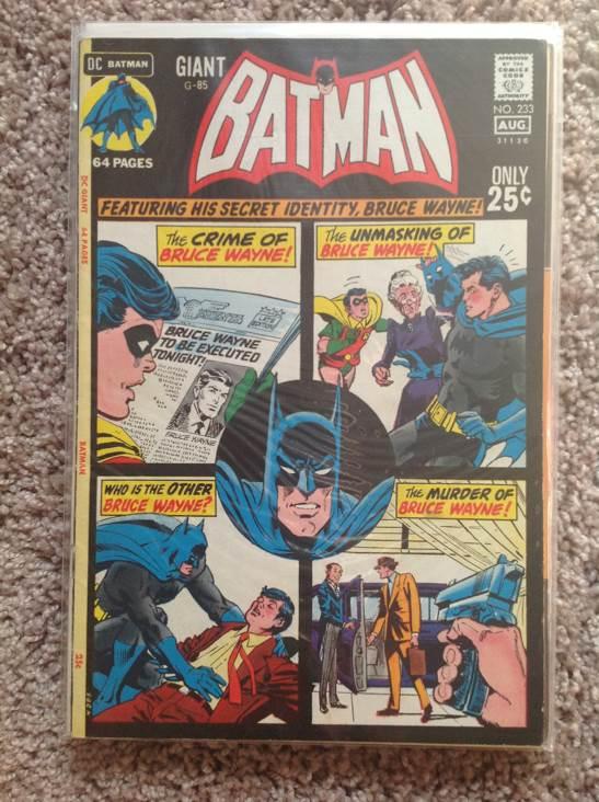 Batman - 233 cover