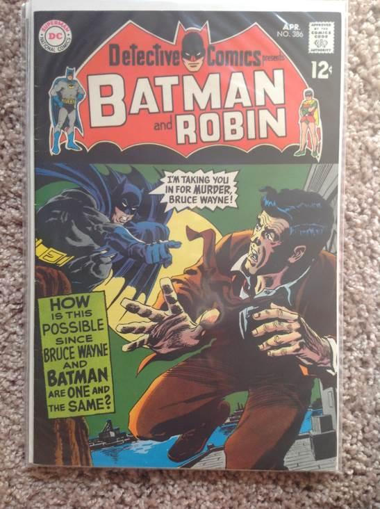 Batman - 386 cover