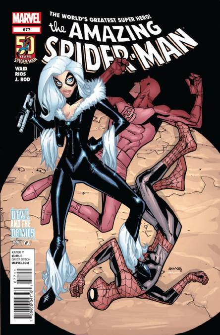 The Amazing Spider-man - 677 cover