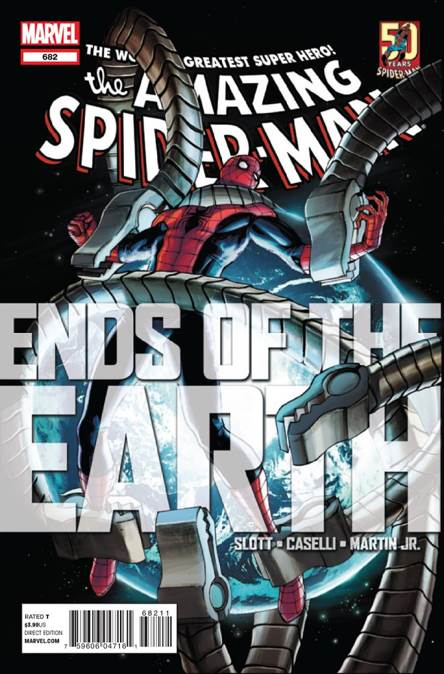 The Amazing Spider-man - 682 cover