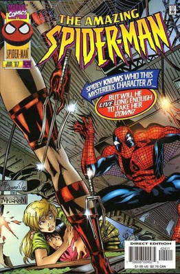 The Amazing Spider-man - 424 cover