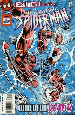 The Amazing Spider-man - 405 cover