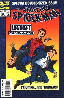 The Amazing Spider-man - 388 cover