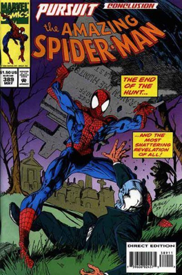 The Amazing Spider-man - 389 cover