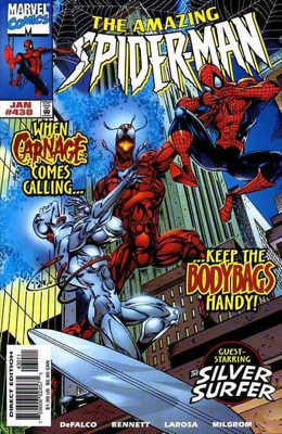 The Amazing Spider-man - 430 cover