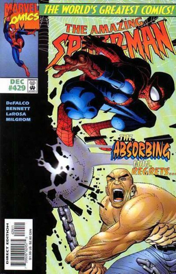 The Amazing Spider-man - 429 cover