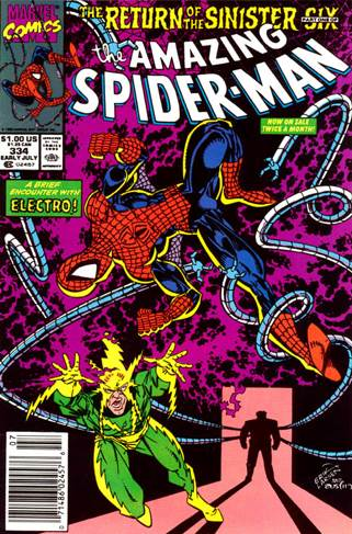 The Amazing Spider-man - 334 cover