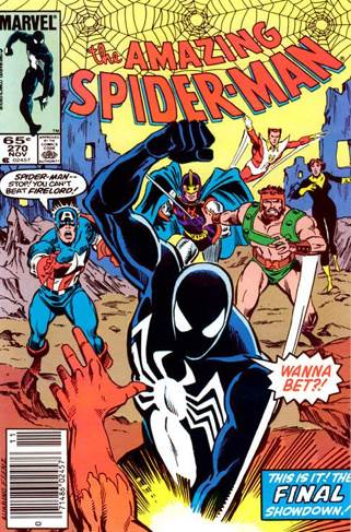 The Amazing Spider-man - 270 cover