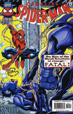 The Amazing Spider-man - 419 cover