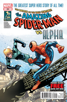 The Amazing Spider-man - 694 cover