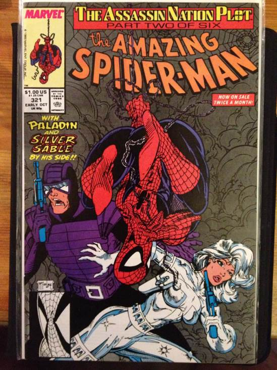The Amazing Spider-man - 321 cover