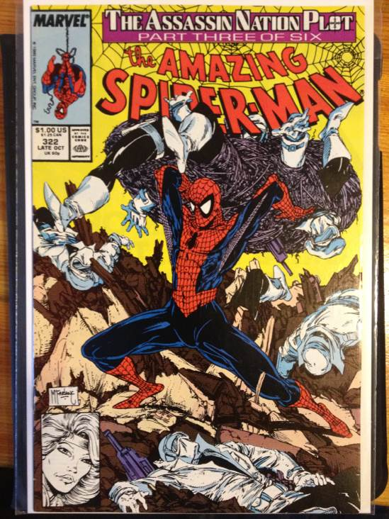 The Amazing Spider-man - 322 cover