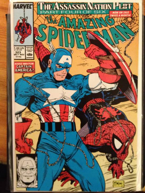 The Amazing Spider-man - 323 cover