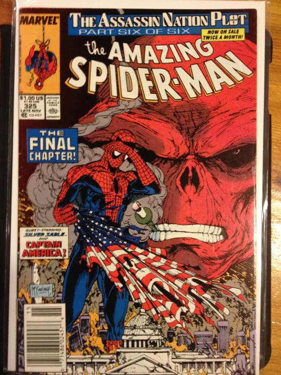 The Amazing Spider-man - 325 cover