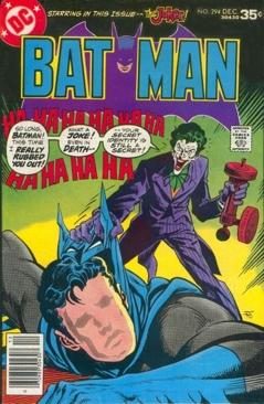 Batman - 294 cover