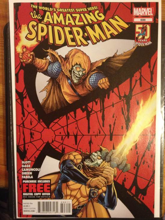 The Amazing Spider-man - 696 cover