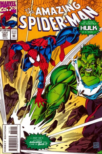The Amazing Spider-man - 381 cover