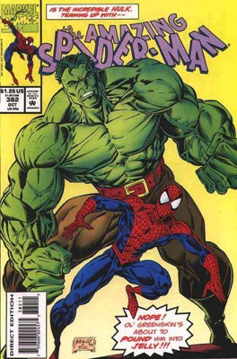 The Amazing Spider-man - 382 cover