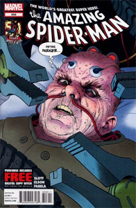 The Amazing Spider-man - 698 cover