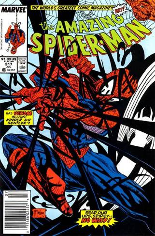 The Amazing Spider-man - 317 cover