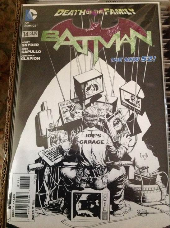 Batman - 14Sketch cover