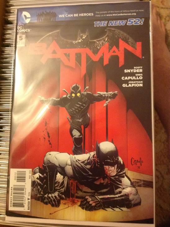 Batman - 5D cover